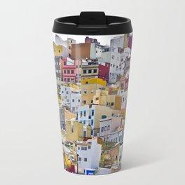 Edificios Colores Las Palmas Travel Mug