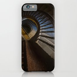 Abandoned Wooden Staircase iPhone Case