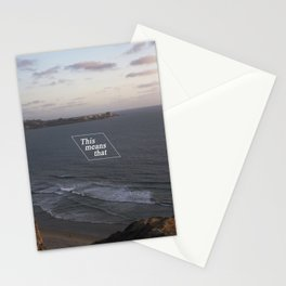 This Means That Stationery Cards