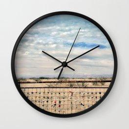 Marfa Locks Wall Clock