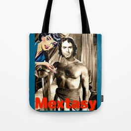"PLEASE TOUCH THE ""MEXICAN"" {RICARDO MONTALBAN, EDITION} Tote Bag"