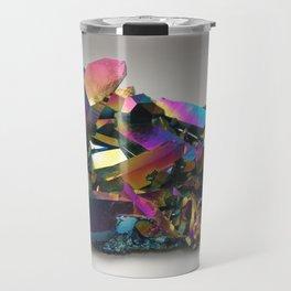 Titanium Rainbow Aura Quartz 1 Travel Mug
