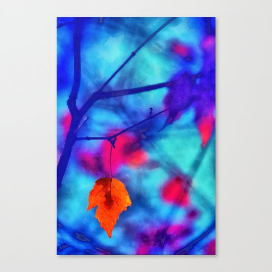 But I miss you most of all my darling, when autumn leaves start to fall... Canvas Print