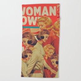 Woman Power Beach Towel
