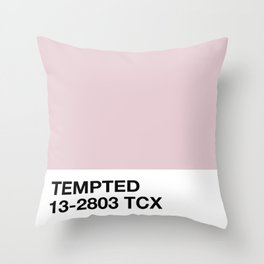 tempted Throw Pillow
