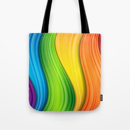 Colorful Rainbow Tote Bag