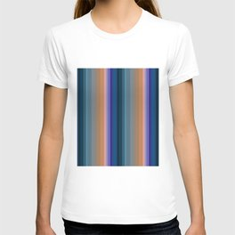 Multi-colored striped pattern 2 T-shirt