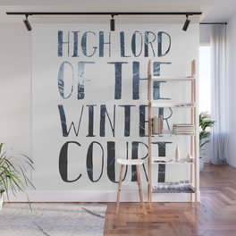 High Lord of the Winter Court Wall Mural