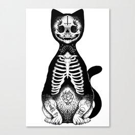 Skulls & Daggers Canvas Print