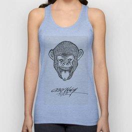 Crazy Monkey Unisex Tank Top