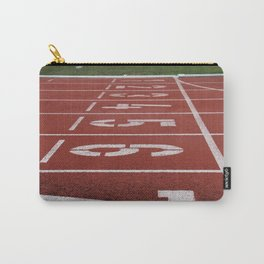 Olympics Tartan Running Track Carry-All Pouch