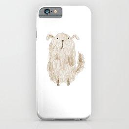Fluffy Dog iPhone Case