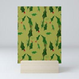 Have a Holly Jolly Mini Art Print