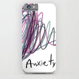 Anxietyy iPhone Case