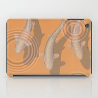 trout iPad Cases featuring Rainbow Trout by Great Gray Art