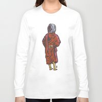 buddhism Long Sleeve T-shirts featuring Eternal View by Thomcat23