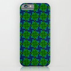 Green Parquet Slim Case iPhone 6s