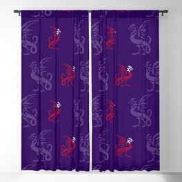 Myths & monsters: basilisk Blackout Curtain