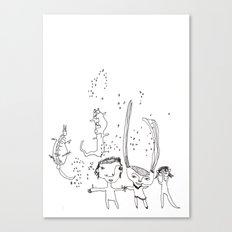 Water Kids Canvas Print