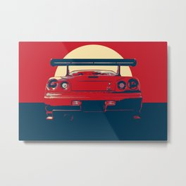 Nissan Skyline-ART Metal Print