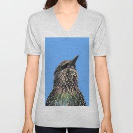 Starling Portrait Unisex V-Neck
