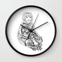We are Soup Herb Wall Clock