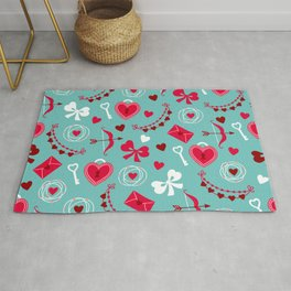 Valentine's Day: Keys to Unlock the Heart Rug