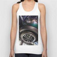 bmw Tank Tops featuring BMW Mini Paceman Wheel by Mauricio Santana