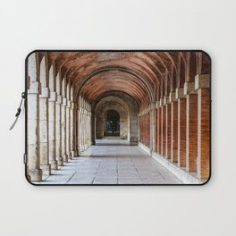 Arcade in Royal Palace of Aranjuez in Madrid Laptop Sleeve
