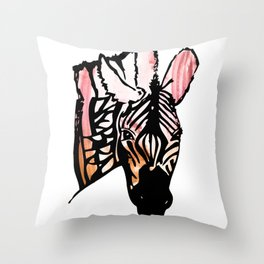 Im a Zebra Throw Pillow