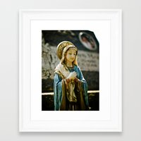 religious Framed Art Prints featuring Religious beauty by Vorona Photography