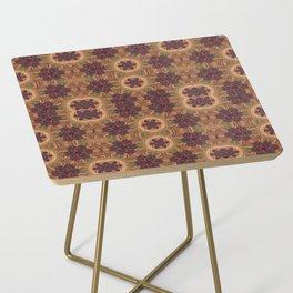 Symmetrical Art // Geometric Art // 2021_020 Side Table