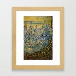 Goddess of Neldor Framed Art Print