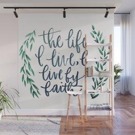 Galatians 2:20 Wall Mural