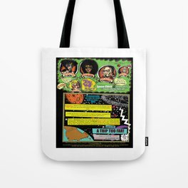 Page #1 of Tex Watt's  (UNCENSORED) SUNDAY COMIX POP-ART! Tote Bag
