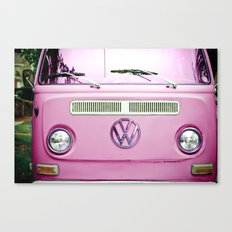 Summer of Love - Cotton Candy Pink Canvas Print
