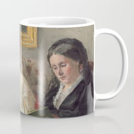 The Mother and Sister of the Artist - Marie-Joséphine & Edma by Berthe Morisot Coffee Mug