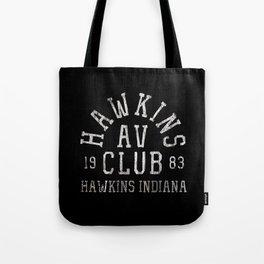 Hawkins AV Club Tote Bag