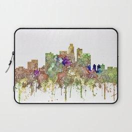 Los Angeles Skyline - Faded Glory Laptop Sleeve