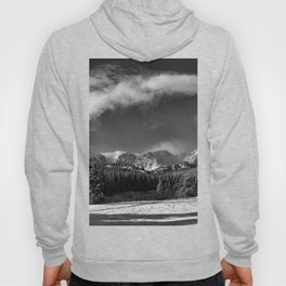 Rocky Mountan Park in Black and White Hoody