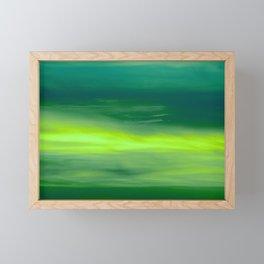 Byg sky Framed Mini Art Print