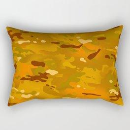 Camouflage: Hunting Orange Rectangular Pillow