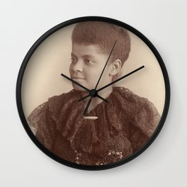 Ida B. Wells 1893 Wall Clock
