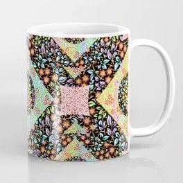 Boho Chic Patchwork Coffee Mug