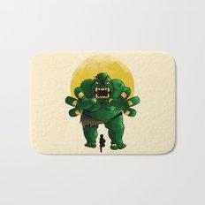 monster green Bath Mat