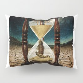 Sands of Time ... Memento Mori Pillow Sham