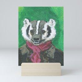 American Badger Mini Art Print
