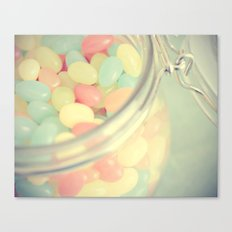 Tropical Jelly Beans Canvas Print