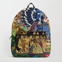 Buddhist Vajrabhairava Demon Deity 4 Backpack