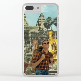 Tourists Clear iPhone Case